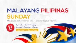 Malayang Pilipinas Sunday (Philippine Independence Day)